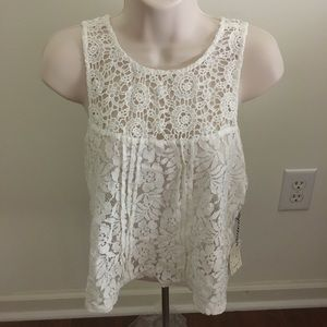 Forever 21 crochet top size M